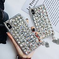 cheap -Case For Apple iPhone XR / iPhone XS Max Rhinestone Back Cover Tile Hard TPU for iPhone XS / iPhone XR / iPhone XS Max