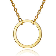 Χαμηλού Κόστους -Γυναικεία Κρεμαστό Charm Κολιέ Χρυσό Ασημί 49 cm Κολιέ Κοσμήματα 1pc Για Καθημερινά Σχολείο Δρόμος Αργίες Φεστιβάλ