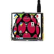お買い得  -320×480、ラズベリーパイ3モデルb / b +のために設計された3.5インチの液晶タッチスクリーンtft液晶、waveshare