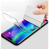 حامي الشاشة إلى Samsung Galaxy S9 / S9 Plus / S8 Plus تبو هيدروجيل 1 قطعة حامي شاشة أمامي (HD) دقة عالية / انفجار برهان / مقاومة الحك