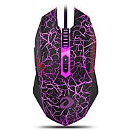 preiswerte -DAREU EM915 Wired USB Optisch Gaming Mouse LED Licht 6000 dpi 6 einstellbare DPI-Stufen 7 pcs Schlüssel 7 programmierbare Tasten