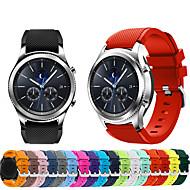 Klokkerem til Gear S3 Frontier / Gear S3 Classic Samsung Galaxy Sportsrem Silikon Håndleddsrem