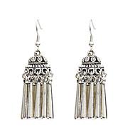 Χαμηλού Κόστους -Γυναικεία Κρεμαστά Σκουλαρίκια Σκουλαρίκια Κοσμήματα Ασημί Για Δρόμος 1 Pair