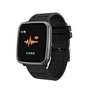 お買い得  -Indear K02 スマート·ウォッチ Android iOS ブルートゥース Smart スポーツ 防水 心拍計 血圧測定 ECG + PPG 歩数計 着信通知 アクティビティトラッカー 睡眠サイクル計測器
