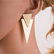 Χαμηλού Κόστους -Γυναικεία Ασημί Χρυσό Γεωμετρική Κρεμαστά Σκουλαρίκια Σκουλαρίκια Ευρωπαϊκό Κοσμήματα Χρυσό / Ασημί Για Καθημερινά 1 Pair
