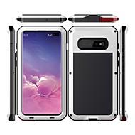 זול -מגן עבור Samsung Galaxy גלקסי S10 עמיד במים / עמיד בזעזועים / עמיד לאבק כיסוי מלא אחיד קשיח מתכת ל גלקסי S10
