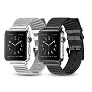 Uhrenarmband für Apple Watch Series 4/3/2/1 Apple Mailänder Schleife Edelstahl Handschlaufe
