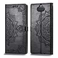 preiswerte -Hülle Für Sony Xperia XA3 Kreditkartenfächer / Flipbare Hülle Ganzkörper-Gehäuse Solide Hart PU-Leder für Xperia XA3