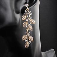 levne -Dámské Visací náušnice Náušnice Šperky Zlatá / Stříbrná Pro Svatební Denní 1 Pair