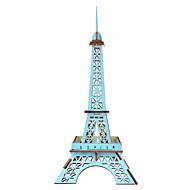 billige -Puslespill i tre Puslespill og logikkleker Tårn Kjent bygning Eiffeltårnet Håndlavet Foreldre-barninteraksjon Tre 1 pcs Barne Voksne Leketøy Gave