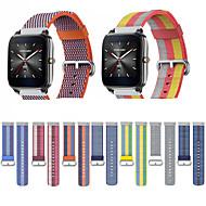 billige -Klokkerem til Asus ZenWatch 2 / Asus ZenWatch Asus Sportsrem Stoff / Nylon Håndleddsrem