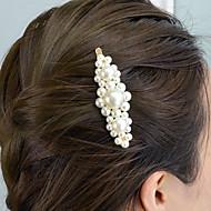 levne -dámské vintage slitiny imitace perly pevné barvy