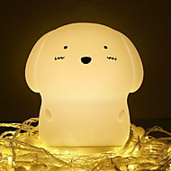 cheap -1pc LED Night Light Warm White USB Creative <=36 V