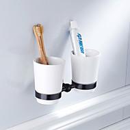 economico -Porta spazzolini Nuovo design Antico / Paese Ottone / Ceramica 1pc Montaggio su parete