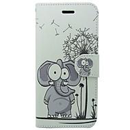 preiswerte -Hülle Für Apple iPhone X / iPhone XS Kreditkartenfächer / Flipbare Hülle Ganzkörper-Gehäuse Solide / Tier / Cartoon Design Hart PU-Leder für iPhone XS / iPhone X / iPhone 8 Plus