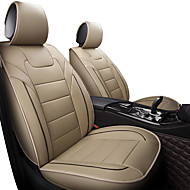abordables -Cojín para automóvil cuatro estaciones de moda automóvil automóvil cojín del asiento cubierta padfive asientos / motores en general asiento coverblack / rosa / negro / marrón / beige