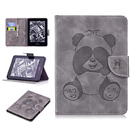 billige -Etui Til Amazon Kindle Voyage Kortholder Fuldt etui Dyr / Tegneserie / Panda Blødt PU Læder for Kindle Voyage