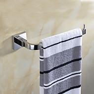 رخيصةأون -قضيب المنشفة تصميم جديد / خلاق معاصر / تقليدي ستانلس ستيل / الفولاذ المقاوم للصدأ / الحديد / معدن 1PC - حمام خاتم منشفة مثبت على الحائط