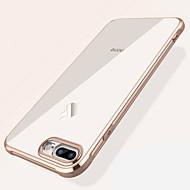 billige -Etui Til Apple iPhone XS Max / iPhone 7 Stødsikker / Belægning / Transparent Bagcover Ensfarvet Blødt TPU for iPhone XS / iPhone XR / iPhone XS Max