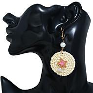 abordables -Boucles d'Oreille Femme Imitation de perle Bagues Tendance Bijoux Vert Bleu Rose pour Soirée Quotidien Plein Air Vacances Festival 1 paire