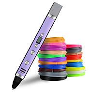 economico -myriwell 1.75mm abs / pla fai da te 3d penna schermo led, ricarica usb 3d stampa penna regalo creativo giocattolo per bambini design