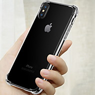 economico -Custodia Per Apple iPhone XS Max / iPhone 6 Resistente agli urti Per retro Tinta unita Morbido TPU per iPhone XS / iPhone XR / iPhone XS Max