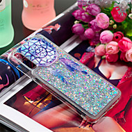 cheap -Case For Samsung Galaxy Galaxy A30(2019) / Galaxy A50(2019) Shockproof / Flowing Liquid / Pattern Back Cover Feathers / Glitter Shine Soft TPU for Galaxy A7(2018) / A3(2017) / A5(2017)