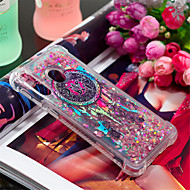 cheap -Case For Samsung Galaxy Galaxy A30(2019) / Galaxy A50(2019) Shockproof / Flowing Liquid / Pattern Back Cover Feathers / Glitter Shine Soft TPU for A6 (2018) / A6+ (2018) / Galaxy A7(2018)