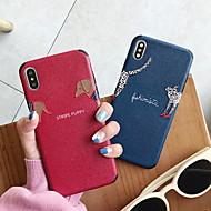 abordables -estuche para apple iphone 6 / iphone xs patrón máximo contraportada suave gel de sílice para iphone 6 / iphone 6 plus / iphone 6s