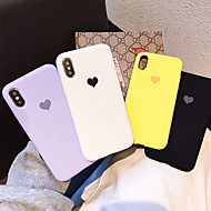 abordables -Funda Para Apple iPhone X / iPhone XS Antipolvo Funda Trasera Corazón Suave TPU para iPhone XS / iPhone X