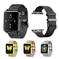 halpa -Watch Band varten Apple Watch Series 4/3/2/1 Apple Milanolainen Metalli Rannehihna