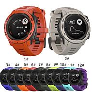 tanie -pasek smartwatch do instynktu garmin garmin instynkt sportowy opaska silikonowa moda miękki pasek na nadgarstek