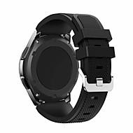 tanie -Watch Band na Gear S3 Frontier Samsung Galaxy Klasyczna klamra Silikon Opaska na nadgarstek