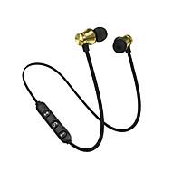 hesapli -Litbest xt-11 manyetik bluetooth kulaklık v4.2 stereo spor su geçirmez kulakiçi kablosuz kulak kulaklık için mic ile iphone samsung