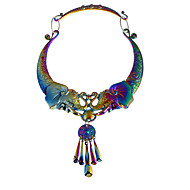 cheap -Women's Necklace Chrome Silver Gray Rainbow 45 cm Necklace Jewelry 1pc For Daily School Street Holiday Festival