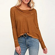 billige -Skjorte Dame - Ensfarget Grønn US10 / UK14 / EU42