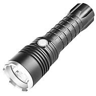 Недорогие -BRELONG® Светодиодные фонари Светодиодная лампа LED 1 излучатели 1000 lm 3 Режим освещения с батареей и USB кабелем Водонепроницаемый Портативные Размер путешествия