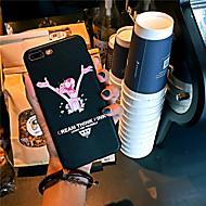 povoljno -Θήκη Za Apple iPhone XS / iPhone XR / iPhone XS Max Ultra tanko / Uzorak Stražnja maska Riječ / izreka / Crtani film PU koža