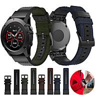 cheap -Woven Nylon Watch Band Wrist Strap for Garmin Fenix 5X / Fenix 5X Plus / Fenix 3 / Fenix 3 HR / Fenix 3 Sapphire / D2 Bravo / Quaitx 3 / Descent Mk1 Easy Quick fit Bracelet Wristband