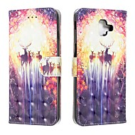 cheap -Case For Samsung Galaxy J6 (2018) / J4 (2018) / Galaxy J4 Plus(2018) Wallet / Card Holder / Flip Full Body Cases Animal PU Leather For Samsung Galaxy J6 Plus/M10/M20/M30