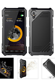 cheap -Case For Apple iPhone X Waterproof / Shockproof Full Body Cases Armor Hard Metal for iPhone XS / iPhone XR / iPhone XS Max