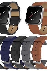 tanie -Watch Band na Fitbit Versa / Fitbit Versa Lite Fitbit Klasyczna klamra Skóra Opaska na nadgarstek
