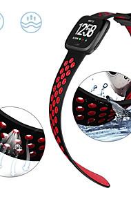 levne -Watch kapela pro Fitbit Versa / Fitbit Versa Lite Fitbit Sportovní značka / Klasická spona Silikon Poutko na zápěstí
