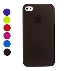 Недорогие Кейсы для iPhone-Ультратонкий защитный, матовый чехол для iPhone 4 / 4