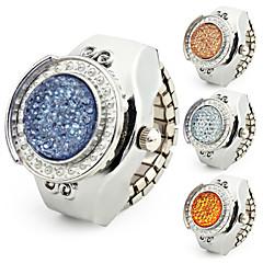 お買い得  レディース腕時計-女性用 クォーツ バンド シルバー - ダークブルー イエロー ブルー