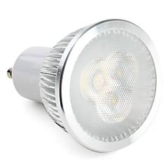 3W GU10 Żarówki punktowe LED MR16 3 Diody lED High Power LED 300-350lm Naturalna biel Przysłonięcia AC 220-240