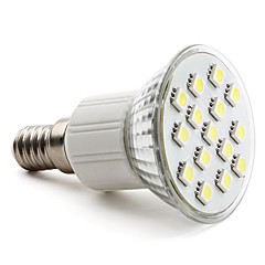 2w e14 gu10 e26 / e27 led spotlight mr16 15 smd 5050 90-120lm blanco cálido blanco natural 6000k ca 220-240v