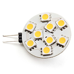 G4 LED Spotlight 9 SMD 5050 100lm Warm White 2800K DC 12V