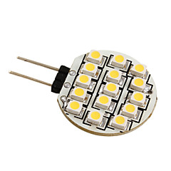 cheap LED Car Bulbs-G4 3528 SMD 15-LED 0.36W Warm White Light Bulb for Car (DC 12V)