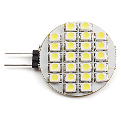 2W G4 LED Spotlight 24 leds SMD 3528 Natural White 6000lm 6000KK DC 12V
